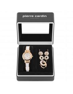 Pierre Cardin, ceas, colier si cercei dama Pierre Cardin PCX6007L257 Rose Gold